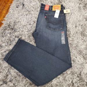 NWT Men's Levi Strauss 505 Regular Jeans 38 x 34